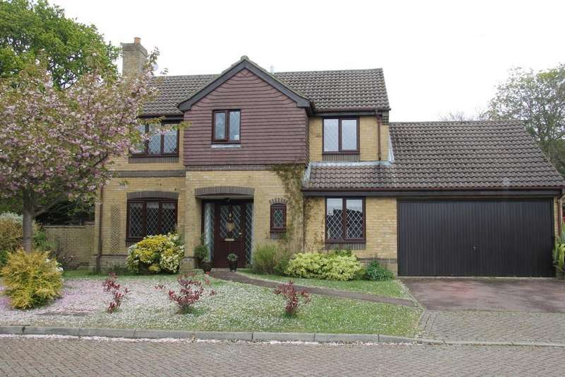 4 Bedrooms Detached House for sale in Bay Tree Close, Heathfield