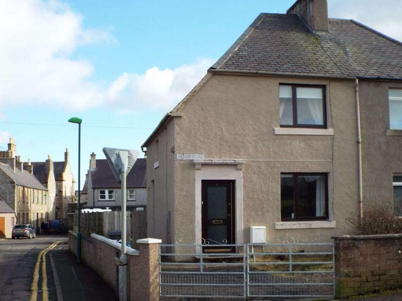 2 Bedrooms Semi Detached House for sale in 6 Beach Road, Thurso