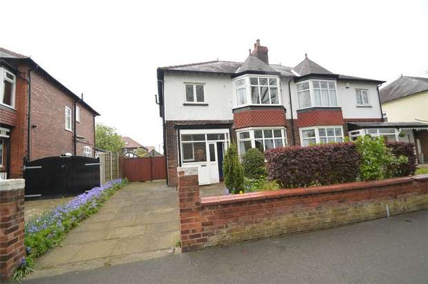 3 Bedrooms Semi Detached House for sale in Lisburne Lane, Offerton, Stockport, Cheshire