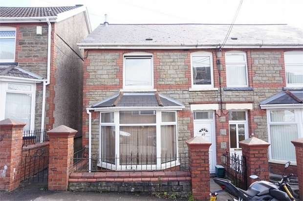 3 Bedrooms Semi Detached House for sale in Ashfield Road, Newbridge, NEWPORT, Caerphilly