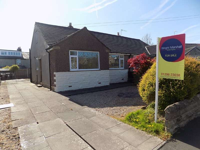 2 Bedrooms Semi Detached Bungalow for sale in Horse Fair Avenue, Chapel-En-Le-Frith