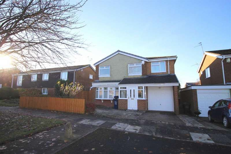 4 Bedrooms Detached House for sale in Cranbrook Court, Kingston Park, Newcastle Upon Tyne