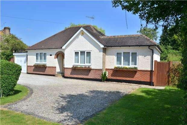 3 Bedrooms Detached Bungalow for sale in Greenlands Road, Kemsing, SEVENOAKS, Kent, TN15 6PH