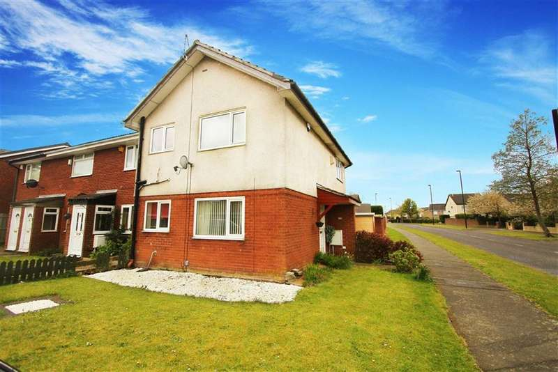 1 Bedroom Property for sale in Carnforth Close, Wallsend