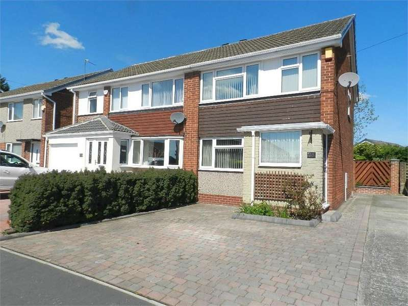 3 Bedrooms Semi Detached House for sale in Derwent Drive, Chapeltown, SHEFFIELD, South Yorkshire