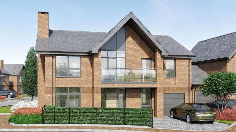 4 Bedrooms Detached House for sale in Copthorne At Upper Longcross, Chobham Lane, KT16