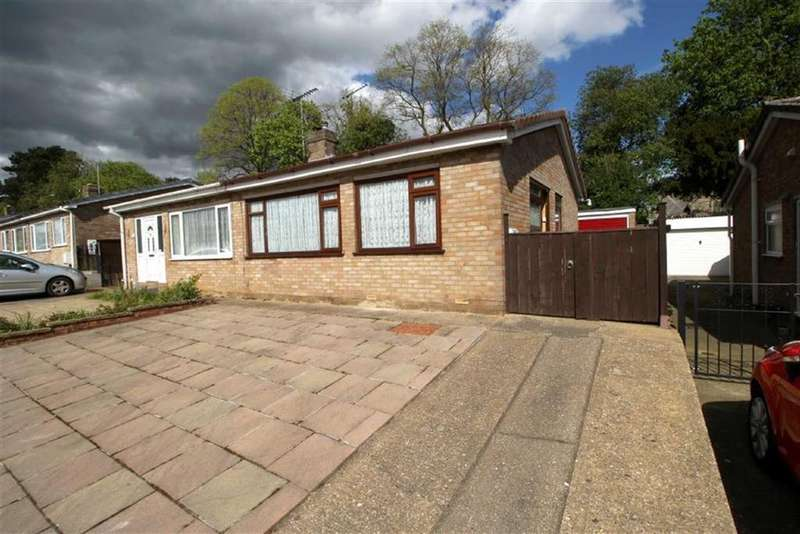 2 Bedrooms Semi Detached Bungalow for sale in Woodland Rise, Driffield, East Yorkshire