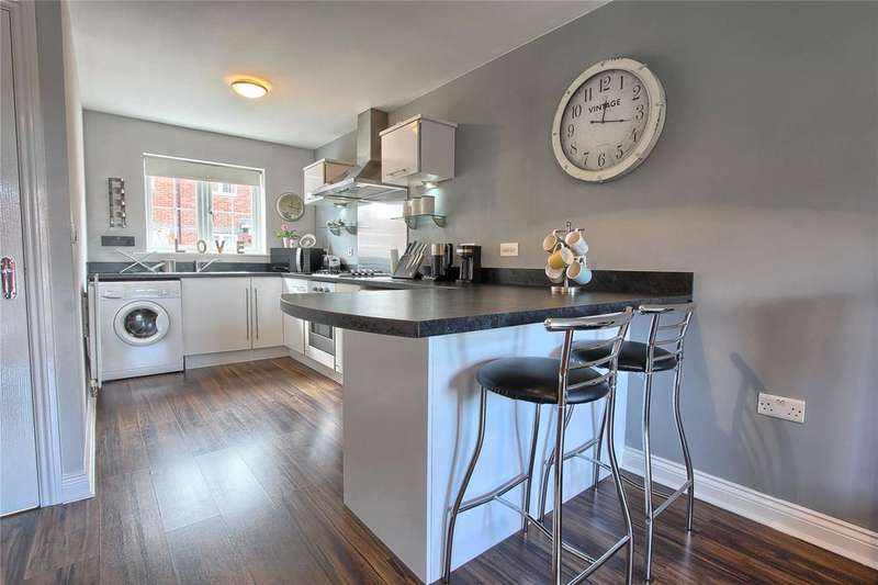 2 Bedrooms Semi Detached House for sale in Geranium Close, College Gardens