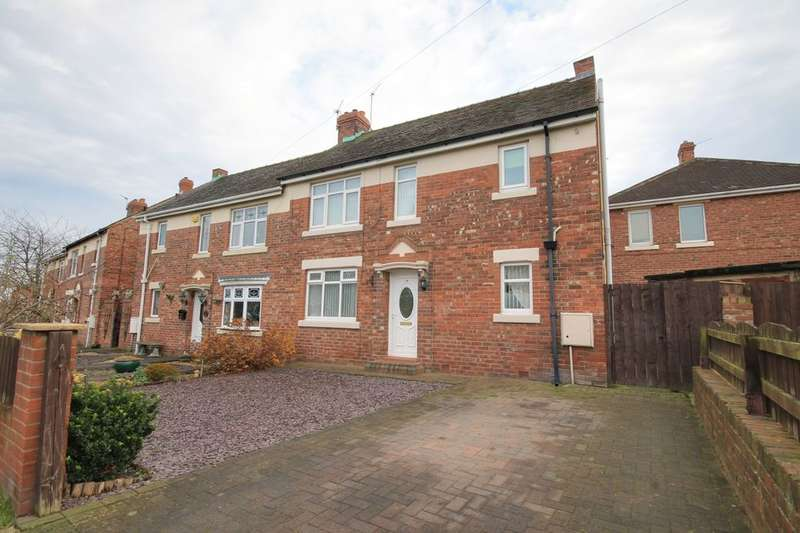 3 Bedrooms Semi Detached House for sale in Conyers Avenue, Chester Le Street, DH2