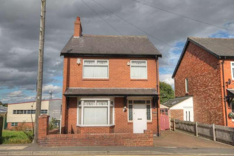 3 Bedrooms Detached House for sale in Stamfordham Road, Westerhope, Newcastle Upon Tyne, NE5