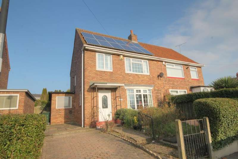 3 Bedrooms Semi Detached House for sale in Southmead Avenue, Blakelaw, Newcastle Upon Tyne, NE5