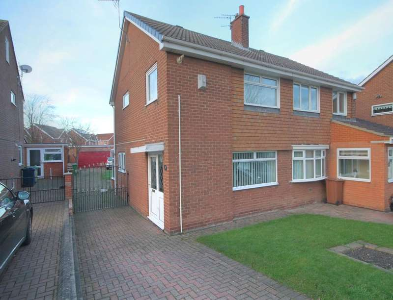3 Bedrooms Semi Detached House for sale in Moorsfield, Houghton Le Spring, DH4
