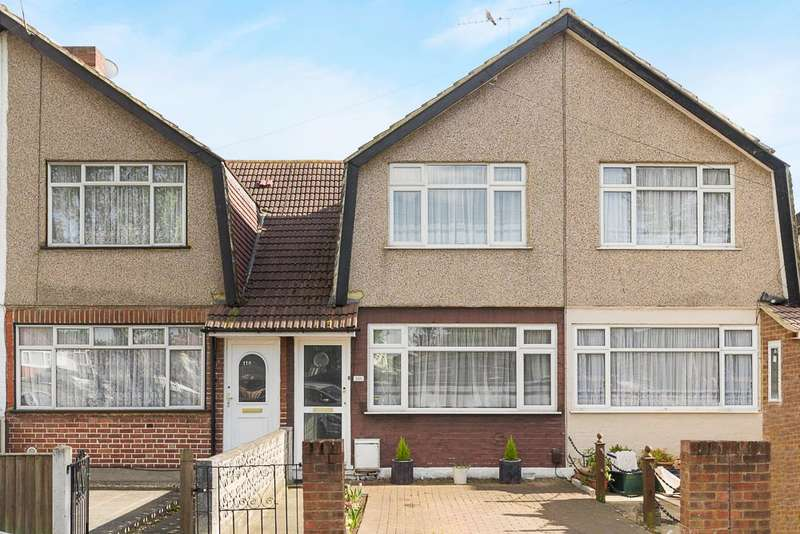 2 Bedrooms Terraced House for sale in Durham Road, Feltham, TW14