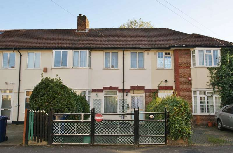 2 Bedrooms Terraced House for sale in Sunningdale Avenue, East Acton