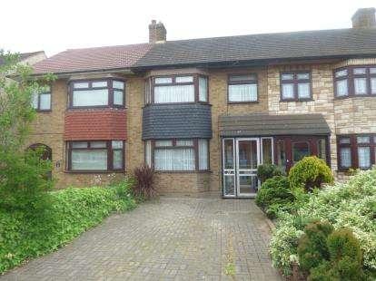 3 Bedrooms Terraced House for sale in Rainham, Essex