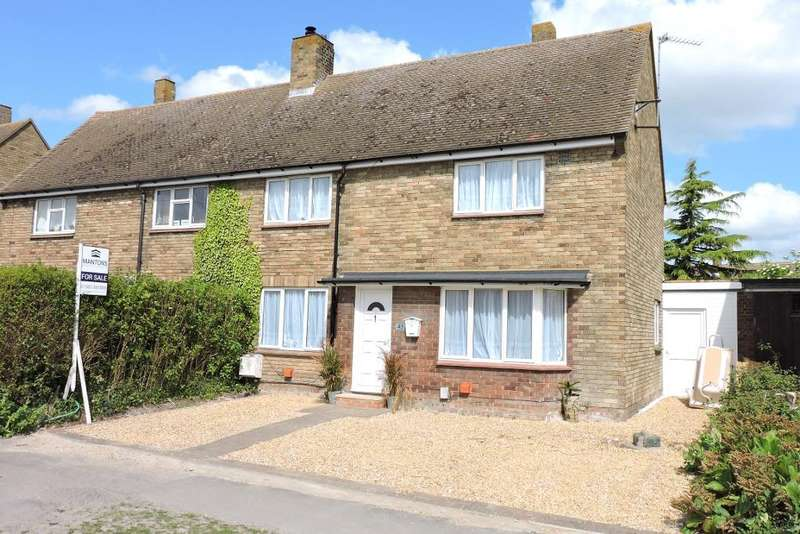 3 Bedrooms Semi Detached House for sale in Dunstall Road, Barton Le Clay, Bedfordshire, MK45 4NX
