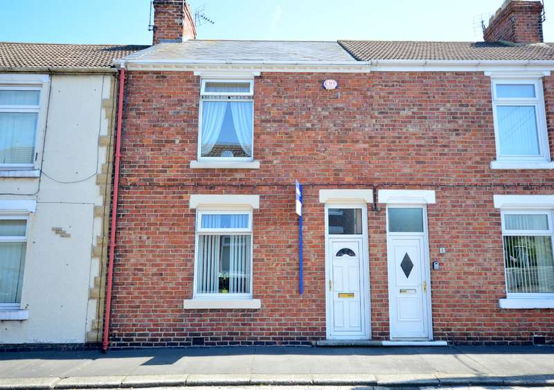 2 Bedrooms Terraced House for sale in Arnold Street, West Auckland, Bishop Auckland, DL14 9HD