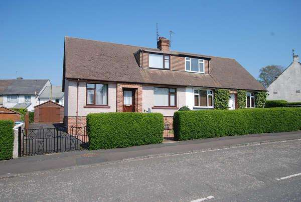 3 Bedrooms Semi Detached Bungalow for sale in 54 Main Street, Symington, Kilmarnock, KA1 5QG