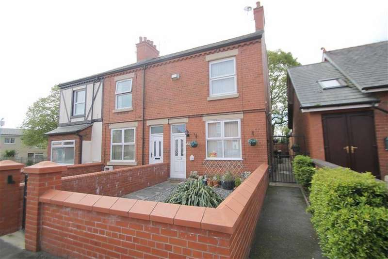 2 Bedrooms End Of Terrace House for sale in Norman Road, Hightown, Wrexham