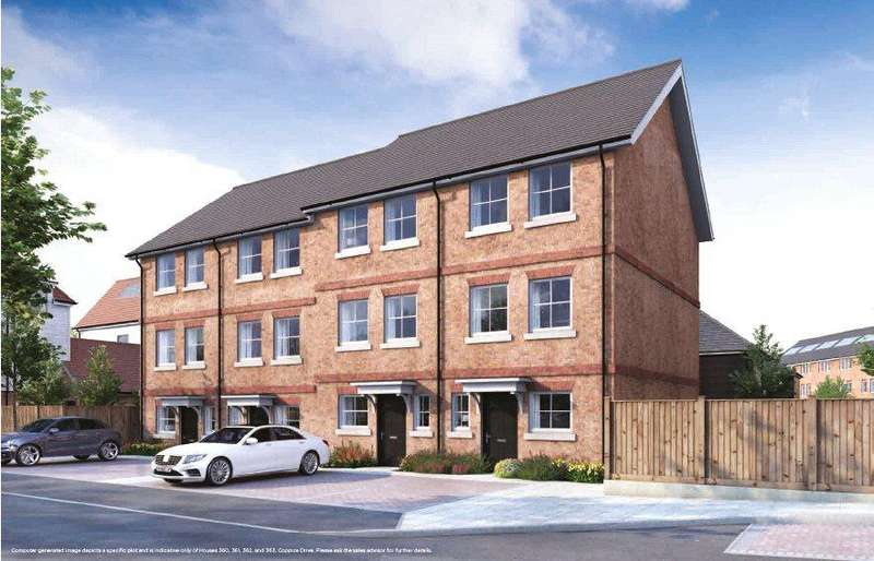 4 Bedrooms Terraced House for sale in Coppice Drive, Ryewood, Dunton Green, Sevenoaks, TN14
