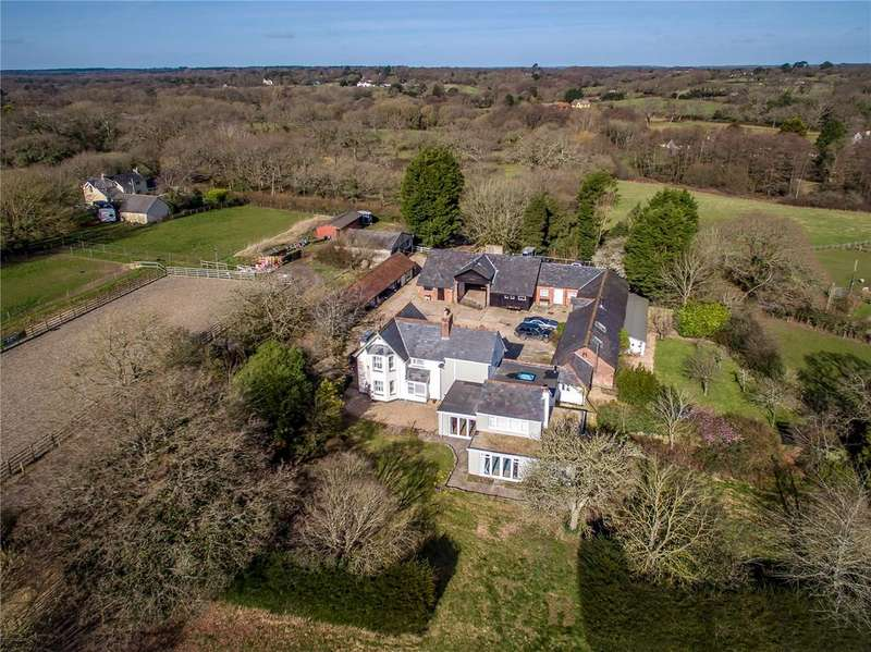 5 Bedrooms Equestrian Facility Character Property for sale in Flexford Lane, Sway, Lymington, Hampshire, SO41