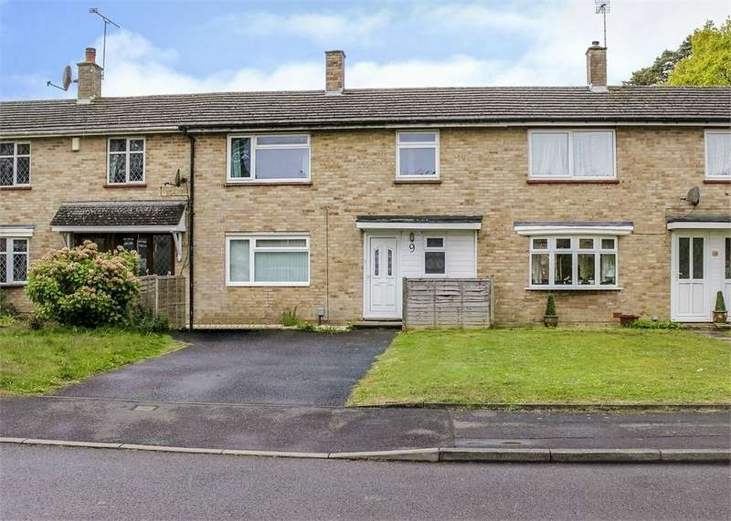 3 Bedrooms Terraced House for sale in Glenwood, Harmans Water, Bracknell, Berkshire