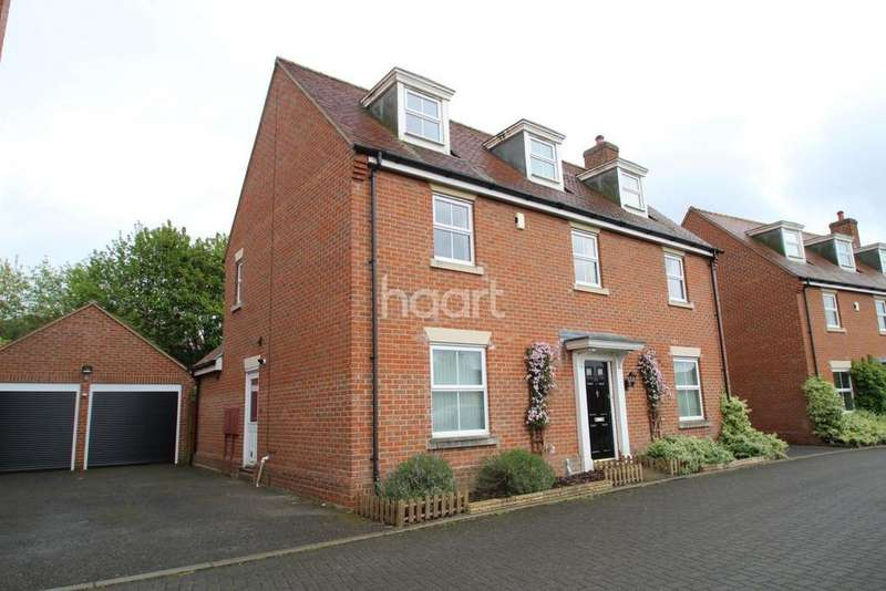 5 Bedrooms Detached House for sale in Marauder Road, Old Catton