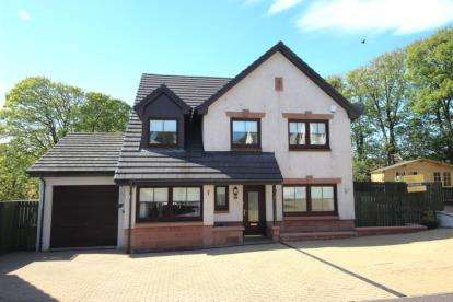 4 Bedrooms Detached House for sale in Cubrieshaw Park, West Kilbride