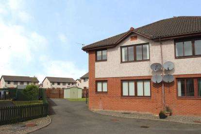 2 Bedrooms Flat for sale in Colliers Road, Stirling
