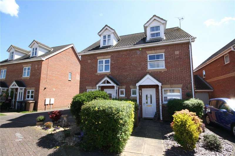 3 Bedrooms Semi Detached House for sale in Redwood Avenue, Sleaford, Lincolnshire, NG34