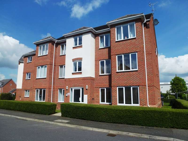 2 Bedrooms Flat for sale in Upton Close, Castle Donington