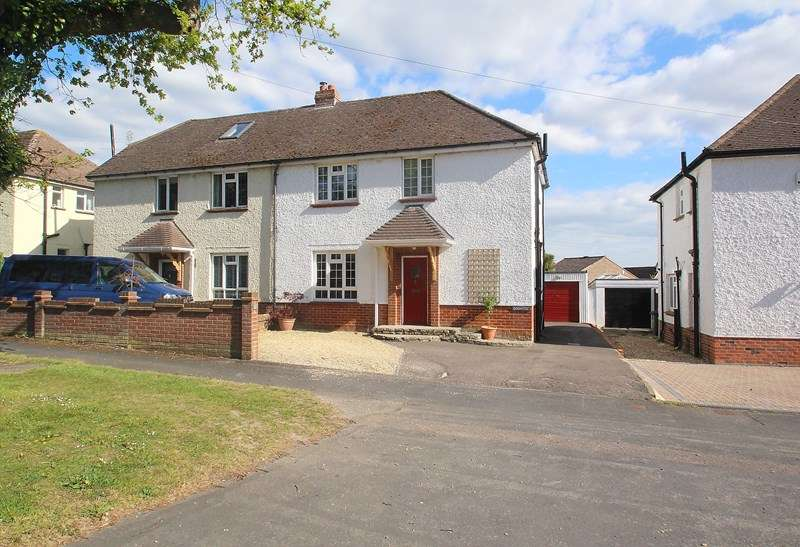 3 Bedrooms Semi Detached House for sale in Down End Road, Down End, Fareham