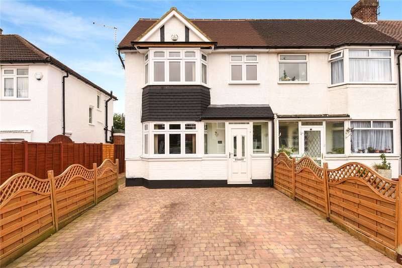 4 Bedrooms End Of Terrace House for sale in Lea Crescent, Ruislip Gardens, Middlesex, HA4