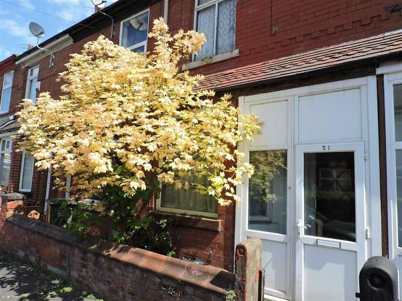 2 Bedrooms Terraced House for sale in 21 Rushmere Avenue, Levenshulme, Manchester
