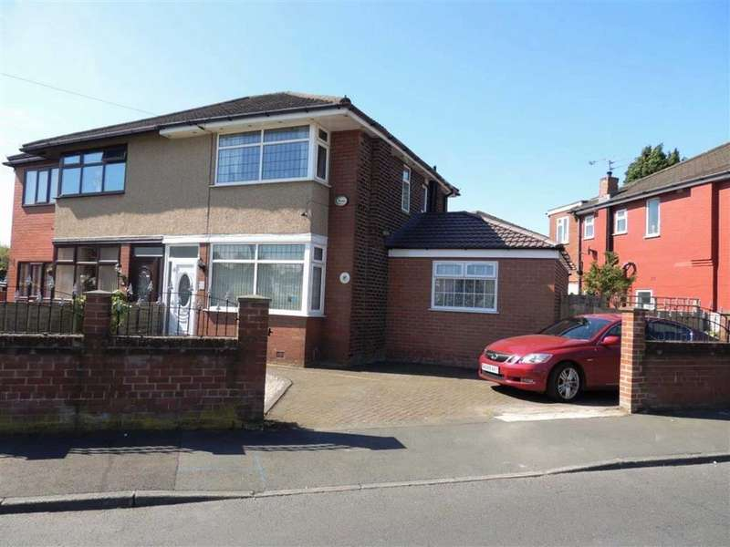 3 Bedrooms Semi Detached House for sale in Eastwood Avenue, Droylsden, Manchester