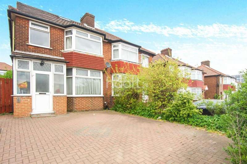 3 Bedrooms Semi Detached House for sale in Kingsbury Road, NW9
