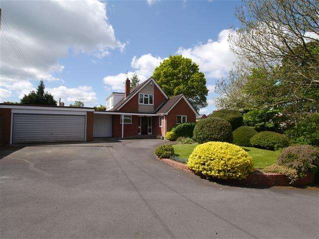 3 Bedrooms Detached Bungalow for sale in Pyles Thorne, Wellington TA21