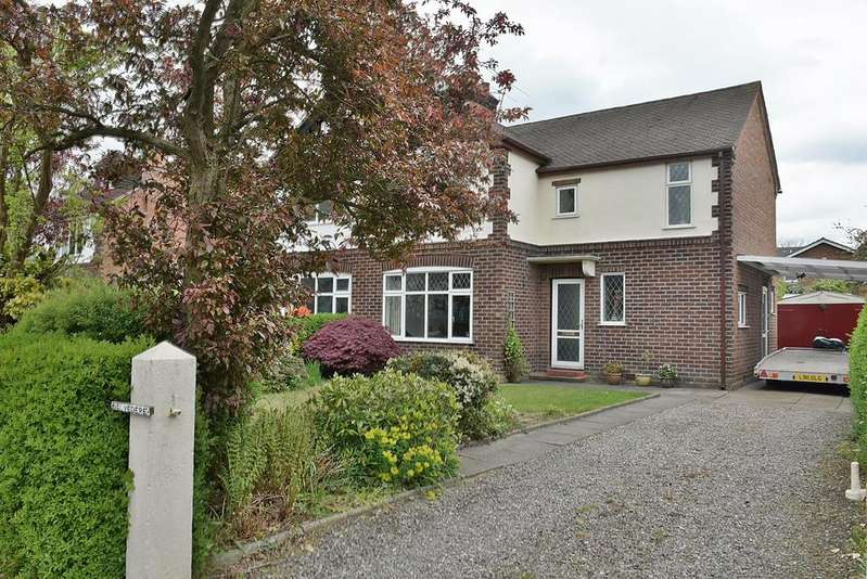 3 Bedrooms Semi Detached House for sale in Belvedere, West Road, Weaverham