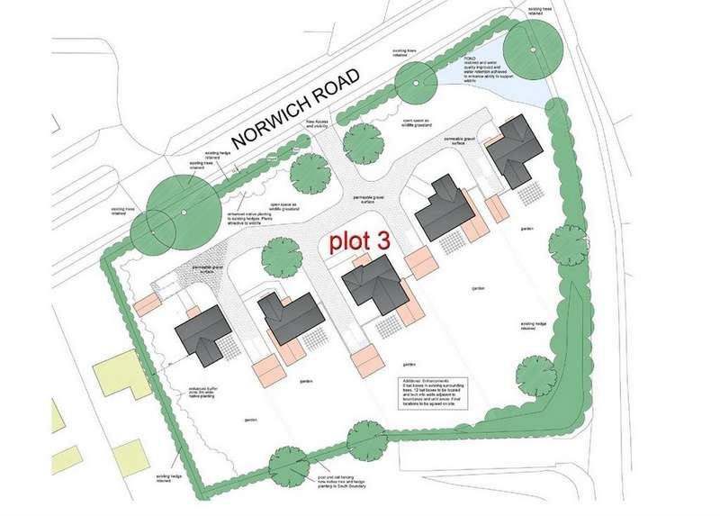 1 Bedroom Land Commercial for sale in Norwich Road, Besthorpe, Norfolk