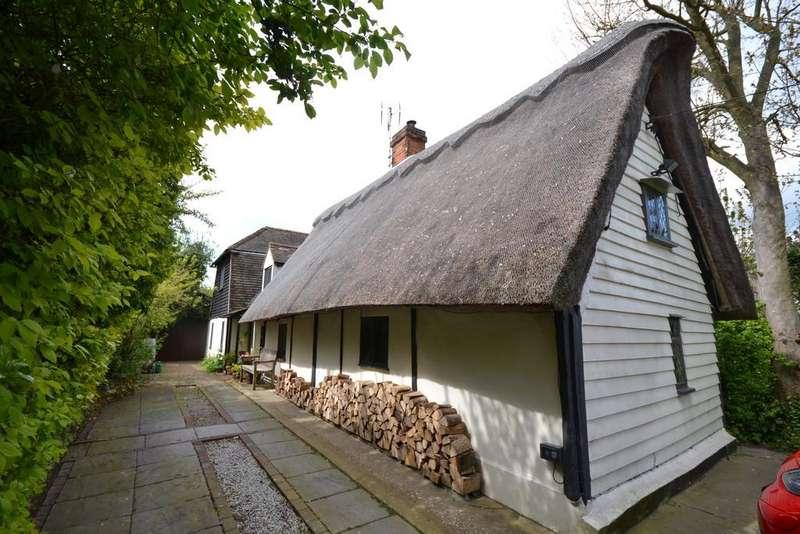 4 Bedrooms Detached House for sale in Wuddys Cottage, Steventon End, Ashdon, Saffron Walden, Essex, CB10 2JE