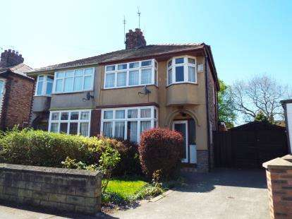 3 Bedrooms Semi Detached House for sale in Wavertree Nook Road, Liverpool, Merseyside, L15