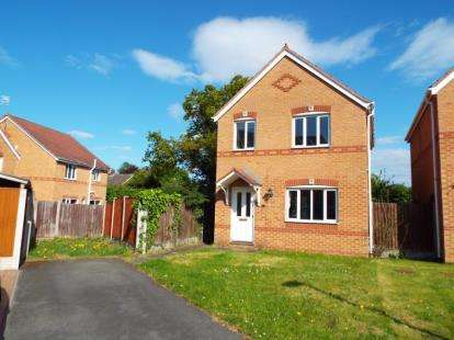 3 Bedrooms Detached House for sale in St. James Court, Connah's Quay, Deeside, Flintshire, CH5