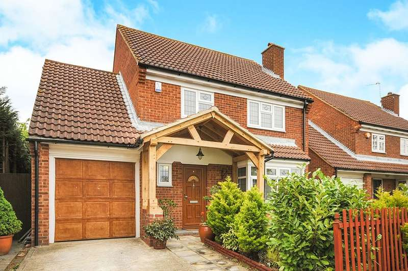 4 Bedrooms Detached House for sale in Crawfords, Swanley, BR8