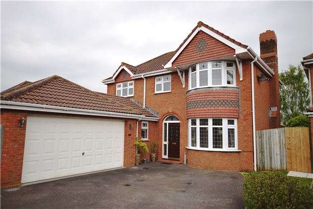 4 Bedrooms Detached House for sale in Colliers Break, Emersons Green, BRISTOL, BS16 7ED