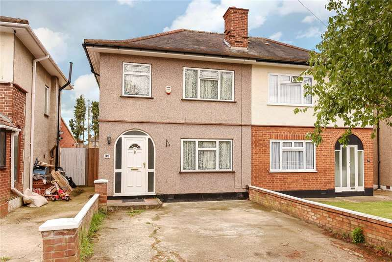 3 Bedrooms Semi Detached House for sale in Grosvenor Avenue, Hayes, Middlesex, UB4