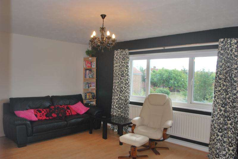 2 Bedrooms Flat for sale in Lutterworth Road, Benton, Newcastle Upon Tyne