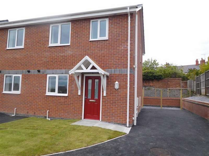 2 Bedrooms Semi Detached House for sale in Craig Y Wern, Rhosllanerchrugog, Wrexham