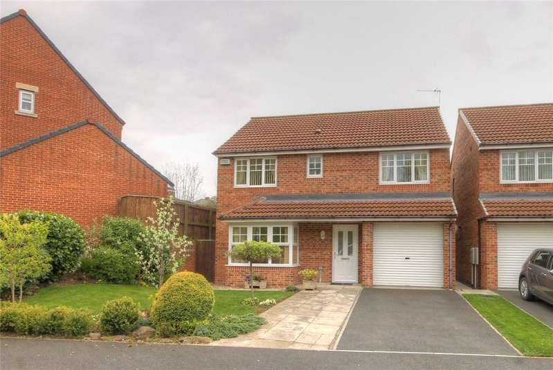 4 Bedrooms Detached House for sale in Aintree Drive, Bishop Auckland, County Durham, DL14