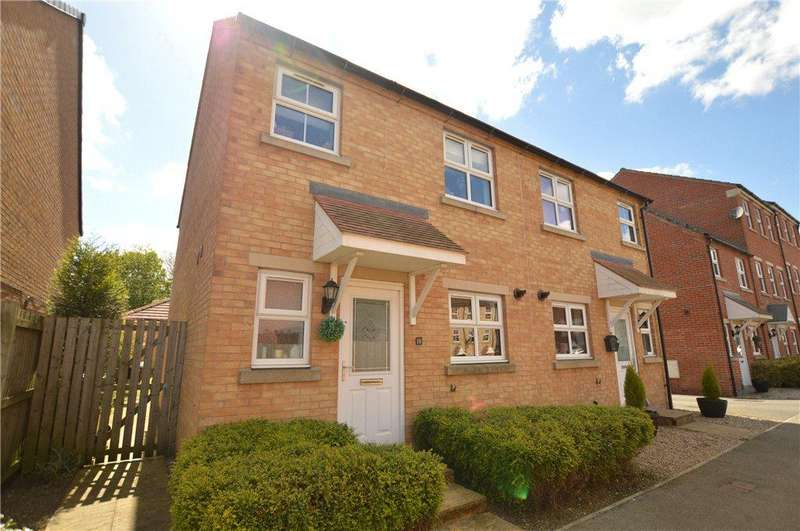 3 Bedrooms Semi Detached House for sale in Bramble Square, East Ardsley, Wakefield