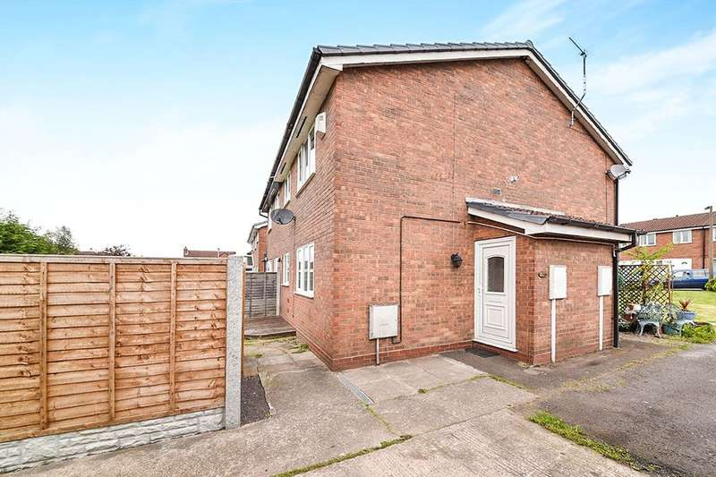 1 Bedroom Semi Detached House for sale in Birches Close, Stretton, Burton-On-Trent, DE13